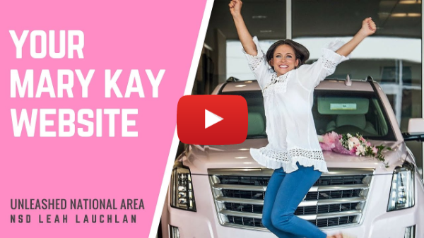 NEW CONSULTANT TRAINING: Your Mary Kay Website