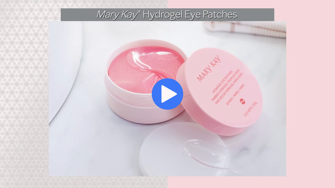 Skin Care Extras Mary Kay Hydrogel Eye Patches.mp4
